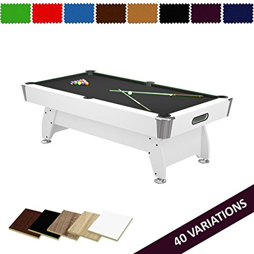 FT Pool Table Billiard Radley Diamond Options To Customise Free - Pool table price amazon