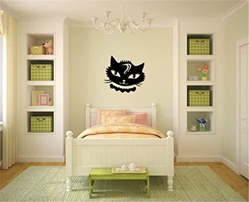 pegatinas de pared disney pegatinas de pared baratas Etiqueta de la pared del animal de la guardería Vixen Kitty Cat para la habitación de los niños de la habitación infantil habitación de las niñas