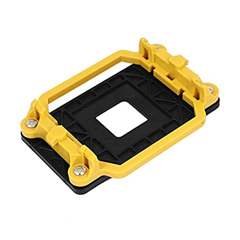 sourcingmap® CPU Retention Bracket Base Yellow for AMD Socket AM2 940