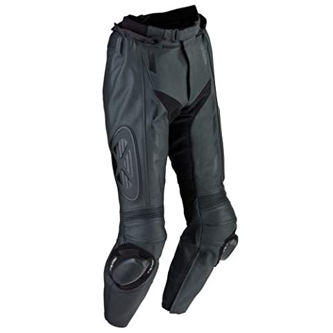 Ixon - Addict Pant Pantalon Cuir Homme Noir Absolu - Taille : 4Xl