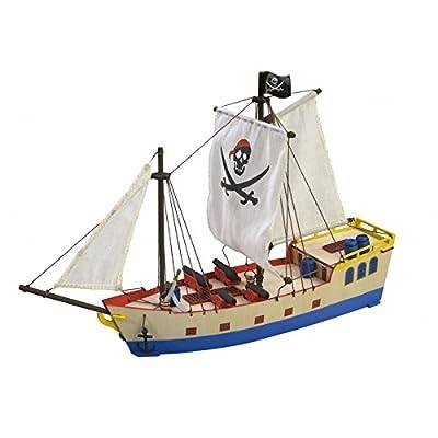 Maquette Bois Bateau Pirate