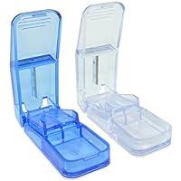 Tablettenzerteiler (blau-transparent) preisvergleich bei billige-tabletten.eu