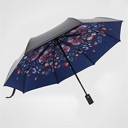 FFHC Paraguas Plegables Paraguas Anti-Ultravioleta