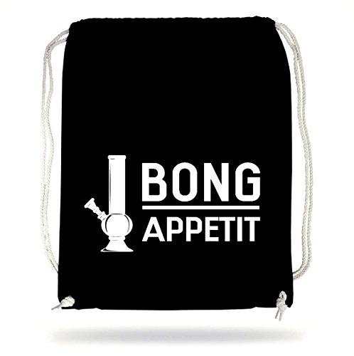 Certified Freak Bong Appetit Gymsack Black (Weed Bong Für Das Rauchen Von Marihuana)