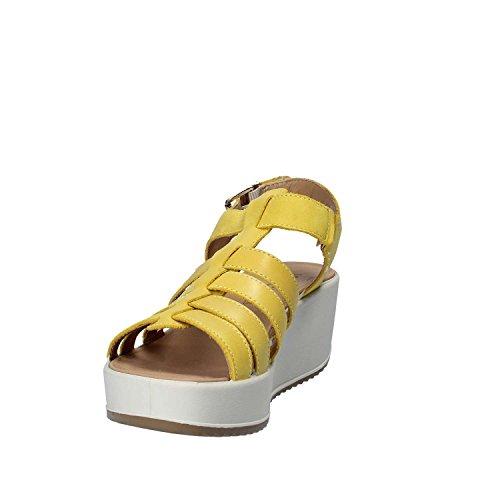 Igi&Co 7822 Sandales compensées Femmes Jaune