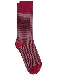 Boss Marc Design Stripe Homme Chaussettes Rouge