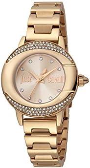 Just Cavalli Glam Chic JC1L150M0075 Women's Quartz Watch in Stainless Steel Pl
