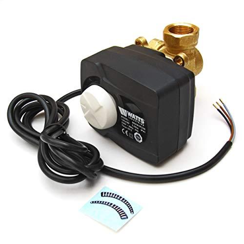 Watts Industries 10027992 3-Wege-Mischer mit Stellmotor DN25, 1 Zoll, Kvs 8,0