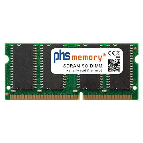 133 Mhz Notebook Speicher (PHS-memory 256MB RAM Speicher für Clevo 2200S SDRAM SO DIMM 133MHz PC133S)