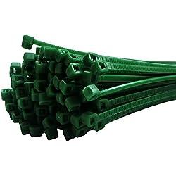 Kabelbinder Set 175 tlg. Grün 2,5x100mm + 2,5x200mm + 3,6x300mm 100 + 50 + 25 Stück