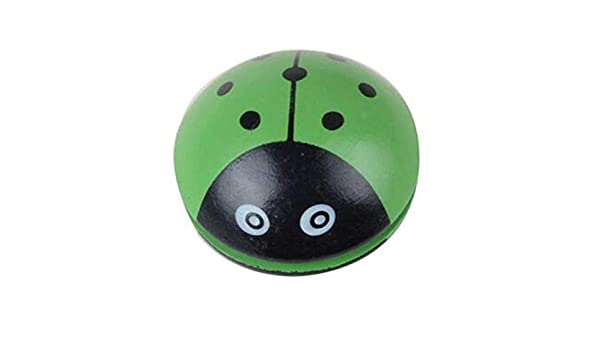 La Yoyo Portatile di Legno Animale Sveglia Gioca la Palla di Yoyo di Stampa della Coccinella Portatile per Sviluppo di coordinazione Mano-Occhio dei Bambini ToGames-IT