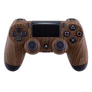 eXtremeRate Hülle für PS4 Controller,Vorderseites Case Gehäuse Cover Schutzhülle Oberschale Skin Schale für Playstation 4 PS4 Slim PS4 Pro Controller JDM-040 JDM-050 JDM-055(Carbon Fiber)