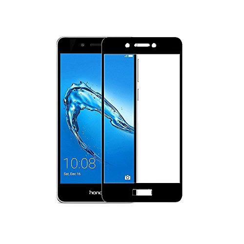 [2 Stück] Huawei Honor 6C Panzerglas Schutzfolie, Sinogoods Bildschirmschutzglas Panzerfolie für Huawei Honor 6C Schutzglas Folie [0.33mm,Ultra-klar] [9H Härte] [Kristallklar] [Bubble Free]