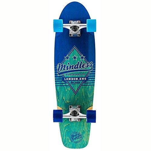 Mindless Longboards Mindless Daily Grande II Longboard, Unisex Adulto, Blue, Talla Única