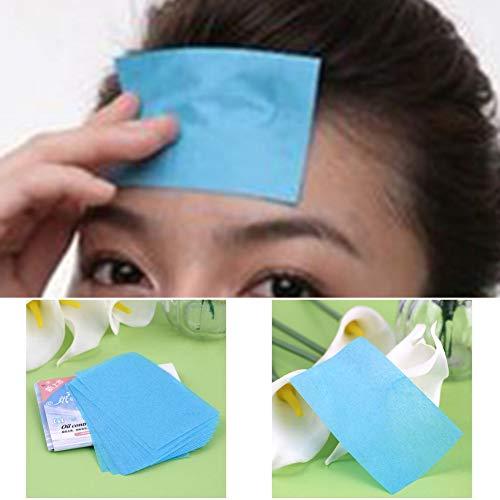 5 paket (250 Stücke) Papier Zellstoff Gelegentliche Gesichtsöl Absorption Film Gewebe Make-Up Blotting Paper Kostenloser Versand