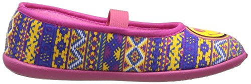 Be Only Smiley Cool, Ballerines Fille Rose (Multi)