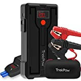 Trekpow Heavy Duty Jump Starter Pack- G39 1200A Peak Start Kit for 12V