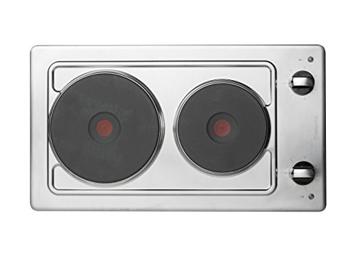 Hotpoint E320SKIX Stainless Steel, 30cm Built-in Domino Electric Hob lowest price