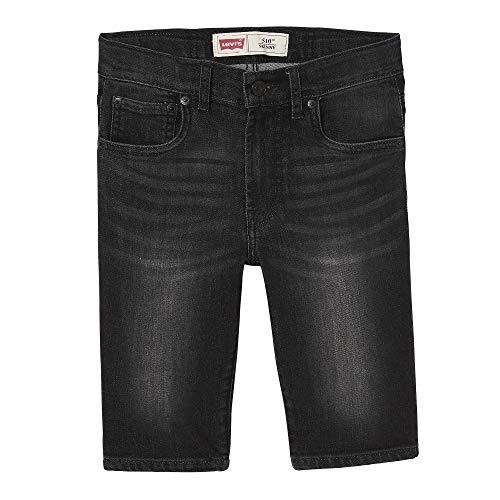Levi's Kids Jungen Nn25127 02 Bermudas Badeshorts, Schwarz (Black 02), 10 Jahre (Herstellergröße: 10Y) -