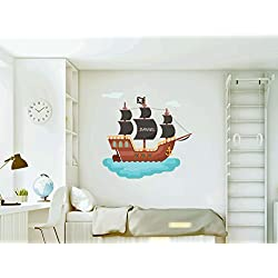 Vinilo decorativo para pared personalizable.