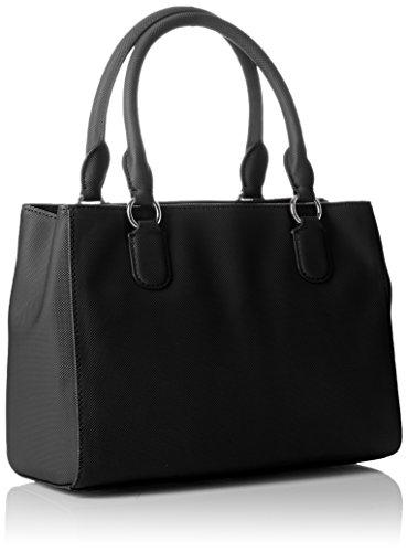 Lacoste NF2108DC, Sac Bandouliere Femmes, 20 x 12.5 x 27.5 cm Black