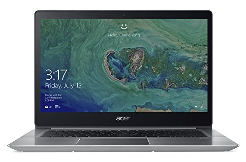 Acer Swift 3 SF314-52-56WS 35,56 cm (14 Zoll Full-HD IPS) Ultrabook (Intel Core i5-8250U, 8GB RAM, 256GB PCIeSSD, Intel HD, HDMI, Win 10) silber