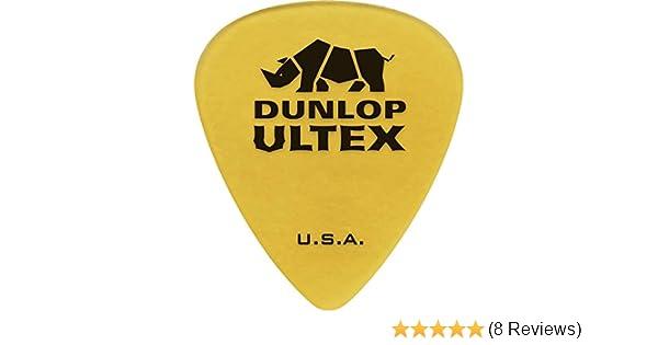 Dunlop 433p 6 Plettri chitarra Ultex /'sharp/' 0.73mm
