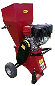 Garden Chipper Shredder | 15HP Pull Start Mulcher | Petrol Chipper Titan Pro