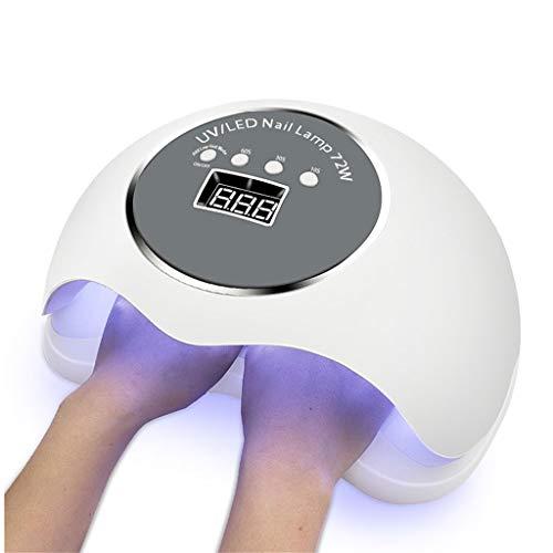 72W UV LED Nagel Lampe für Manikürenagel Trockner für alle Gele polnisch mit automatischem Sensor Smart Temperature Control MJD522 Temperatur -, Mess-sensoren