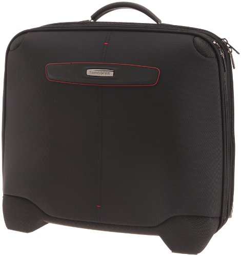 "Samsonite Koffer Laptoptrolley Pillow 3 16"", 46 cm, 27 Liter, black, 46492-1041"