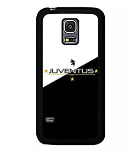 Sport Theme-Football Club Team Logo- Juventus F.C.Coque Samsung Galaxy S5 I9600 Foot Case For Girls