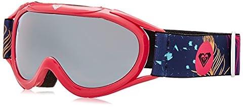 Roxy Girls' Loola 2.0 Snowboard Goggles, Pink (Peterpan Blue print),