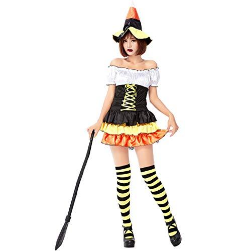 Halloween Kostüm Aus Tv Shows Und Filme - Jeff-chy Halloween Karnevals-Party-Karneval-Kostüm-Magie Kürbis-Hexe-Kostüm Nette Kleine