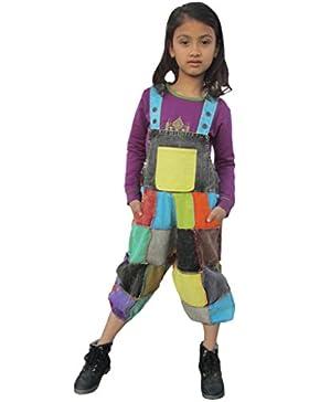 LITTLE KATHMANDU - Mono - pantalones de peto - para niña
