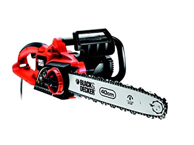 Black + Decker GK2240T-QS Kettensäge 2200Watt, Motor mit 40cm Schwertlänge