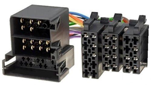 OPEL Display Umrüstadapter neu auf alt Adapter Radio Stecker TID MID Kabel ISO