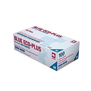 Einmalhandschuhe Ampri aus Nitril Blue Eco-Plus blau S