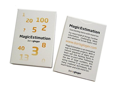 Magic Estimation Cards: Estimate your Scrum Projects with a bit Fun