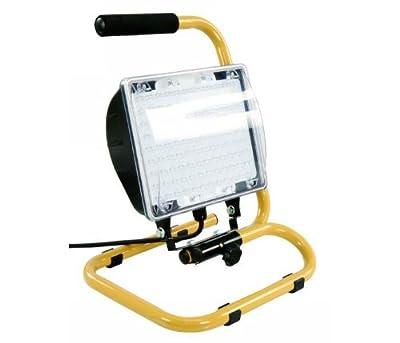 LED-Baustrahler 108 LEDs IP54 inkl 5m Neopren-Kabel McShine LB-108 450027 von ETT auf Lampenhans.de