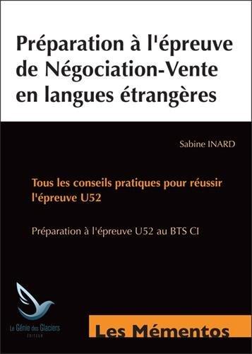 Préparation à l'épreuve de négociation en langues étrangères : 6 dossiers complets d'exportation