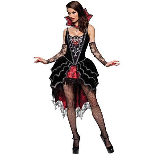 LBFKJ Cosplay Kostüm, Halloween Gothic Wind Vampir Kostüm, Teufel Weibliche Spiderman Spiel Uniform Bar ()