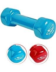 HUDORA Vinylhantel 1 kg 1 Stück Hantel Minihantel Joggen Fitness Sport Gewicht