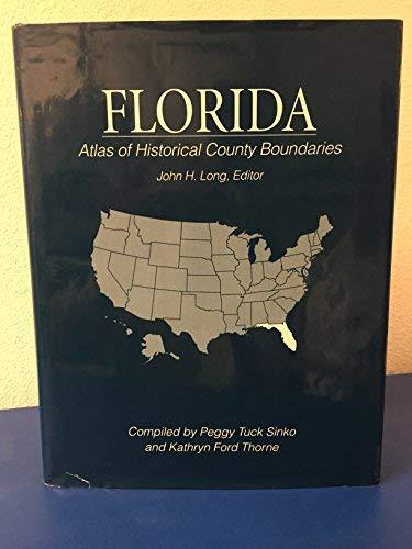 Florida Atlas of Historical County Boundaries (Karte Von Florida County)