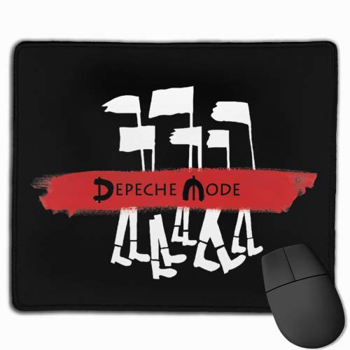 ncnhdnh Depeche Mode Dave Gahan Mouse Mat,Gaming & Office Mouse Pad Non-Slip and Accurate Speed Pad Rubber Base 25X30 in