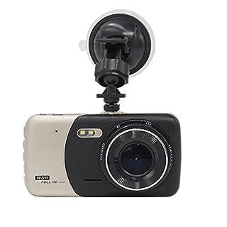 WSHA 4 Zoll Auto DVR Kamera HD 170 Grad Weitwinkel Dashboard Kamera Recorder Doppelaufnahme Nachtsicht Autofahren Recorder