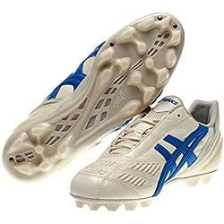 Asics Tigreor IT, Scarpe per Allenamento Calcio Uomo, (Cultura Gold Italia N Blue), 44 EU