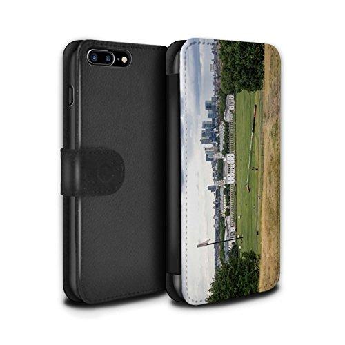 Stuff4 Coque/Etui/Housse Cuir PU Case/Cover pour Apple iPhone 7 Plus / Belles Chaussettes Design / Imaginer Collection Mettre Parc