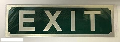 Modern Green Exit Door Sign For House Office Public Places Toilet Door Plaque