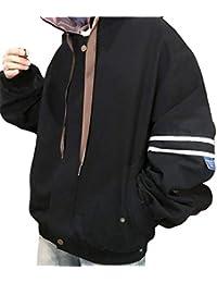 Kapuzenjacke Damen Elegante Frühling Herbst Longsleeve Mit Kapuze Jacket  Classic Mädchen Relaxed Mode Casual College Sportlich Outwear… ad11a18cc5