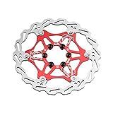 Chooee Disco Freno 180mm, Freno a Disco per MTB/Mountain Bike,Rosso